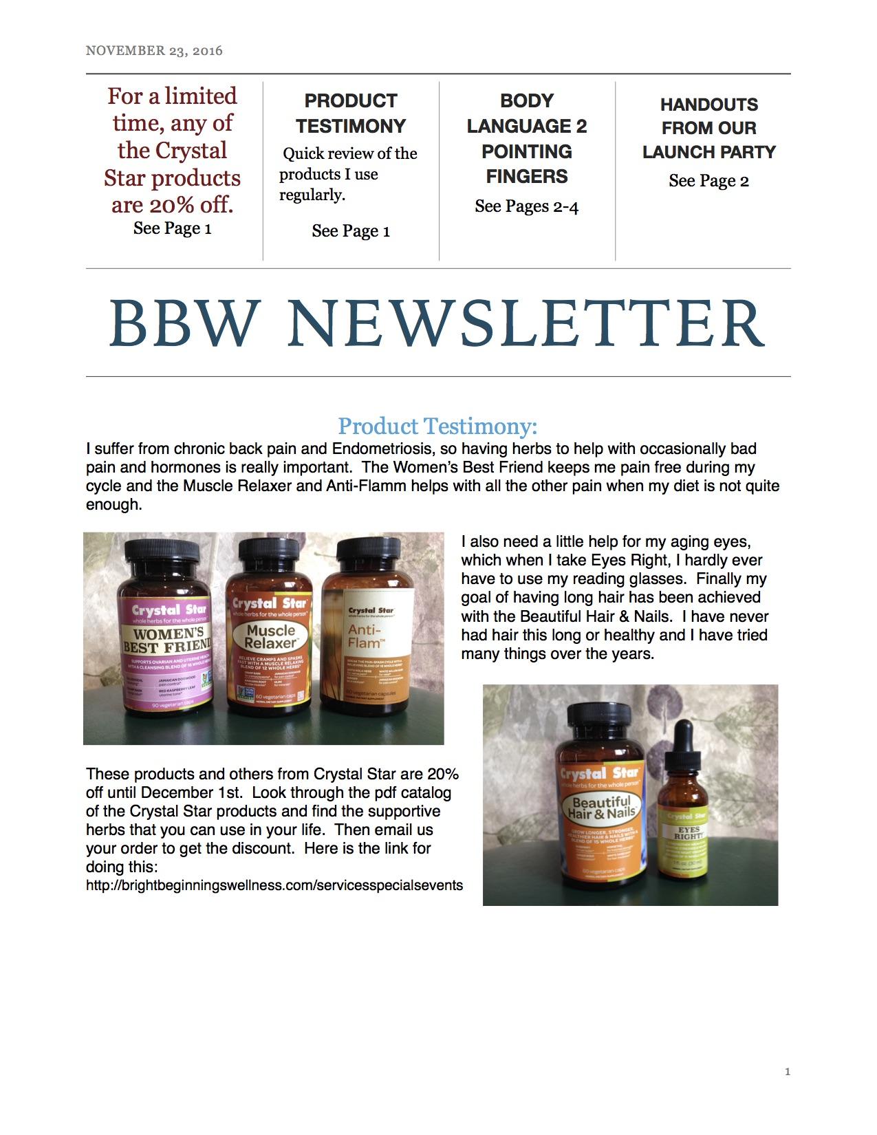 Nov News P1